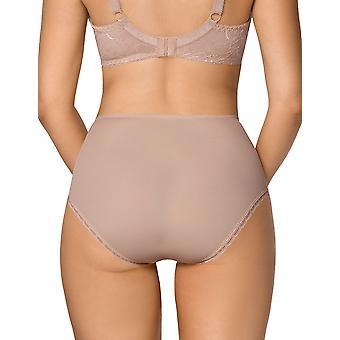 Tatiana mocca mulheres nipplex Brown Lace Full calcinha Highwaist breve