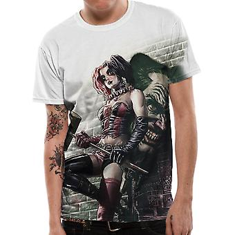 Harley Quinn Wall Art sublimation T-shirt pour homme