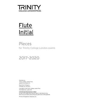 Flute Exam Pieces Initial 2017 2020 (Part Only) - 9780857365040 Book