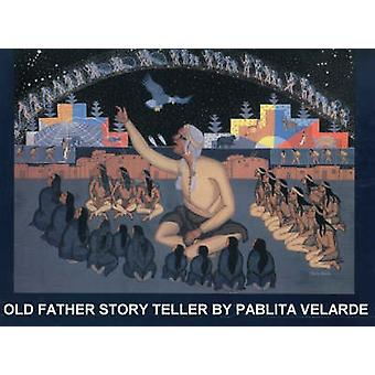 Old Father Story Teller by Pablita Velarde - 9780940666108 Book