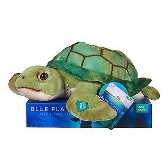 BBC aarde pluche schildpad 25cm