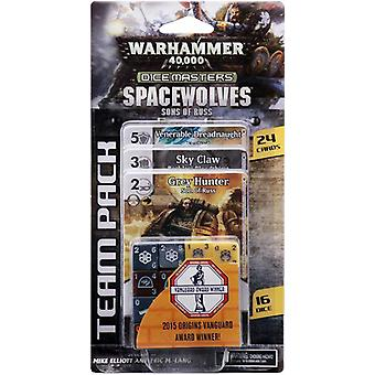 Warhammer 40000 Dice Masters Space Wolves söner Russ team Pack