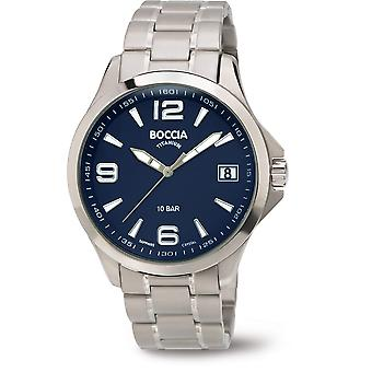 Boccia Titanium 3591-03 Miesten Watch