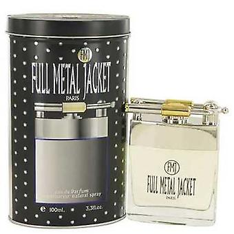 Full Metal Jacheta de Parisis Parfums EAU de Parfum Spray 3,4 oz (barbati) V728-529378
