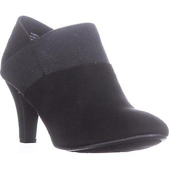 Karen Scott Womens Bryann Fabric Closed Toe Ankle Fashion Boots