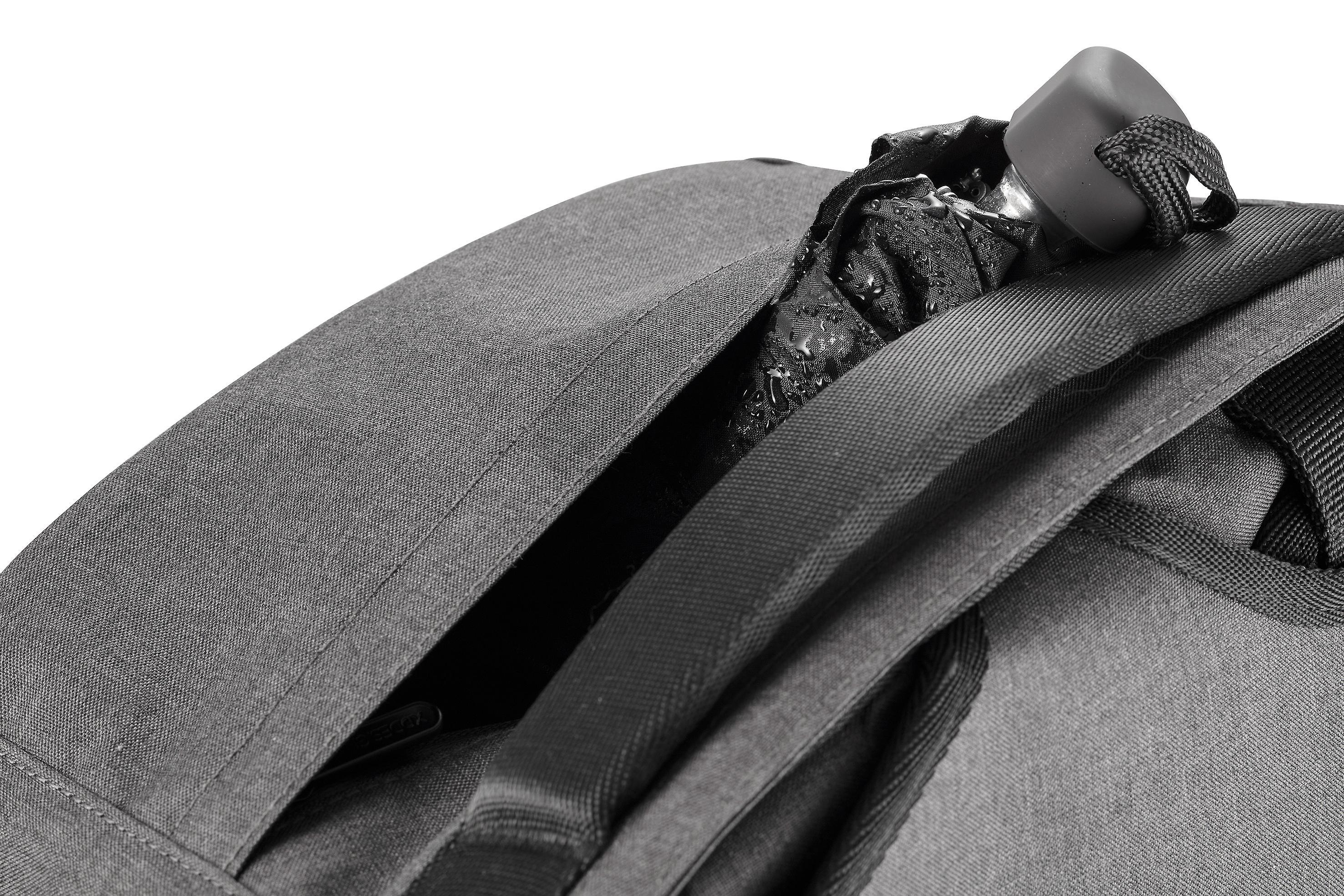 XD Design Bobby Duffle 30L Weekender anti-diefstal reizen rugzak zwart