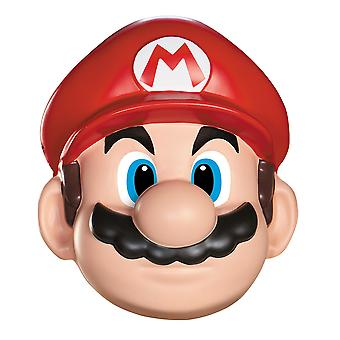 Super Mario Video Game Plumber 1980s Deluxe Adult Men Costume Mask