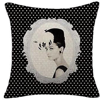 Wellindal Cotton Cushion Cover Victorian 45X45- (Decoration , Cushions)