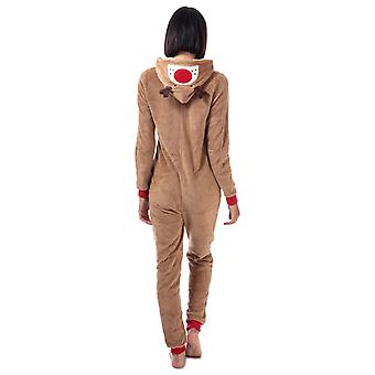 Donne Brave Soul Renna Onesie in Brown.