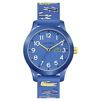 Lacoste 12.12 Kids | Blue Rubber Printed Strap | Blue Dial | 2030019 Watch