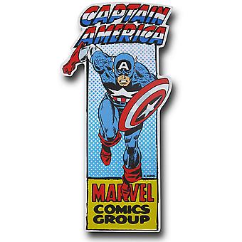 Captain America Die Cut Sign