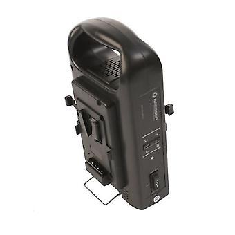 Caricabatterie BRESSER BR-RL2KS per 2 batterie V-Lock