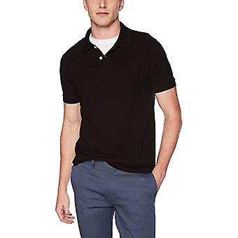 J.Crew Mercantile Men's Pique Polo Shirt, Black, XS