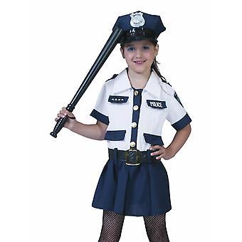 Barnas Police Girl Amy barnas kostyme Carnival politikvinne drakt Carnival Law keeper