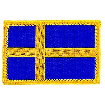 Patch Ecusson brode flag ruskind Susde termo Collant Insigne Blason