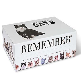 Husk Husk 44 katte memory spil