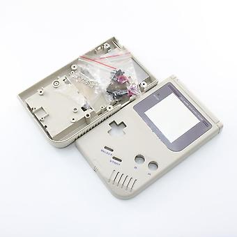 Replacement housing shell case repair kit for nintendo game boy dmg-01 - grey