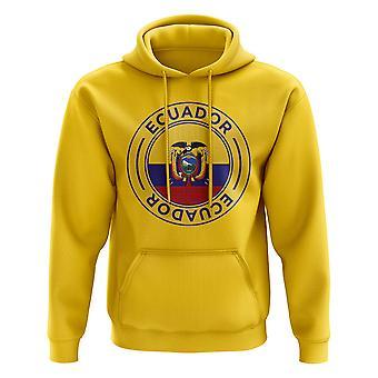 Ecuador fotball Badge hettegenser (gul)