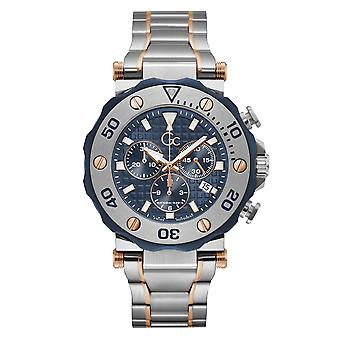 Gc Y63001G7MF Men's Divercode Chronograph Wristwatch