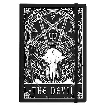 Deadly Tarot The Devil A5 Hard Cover Notebook
