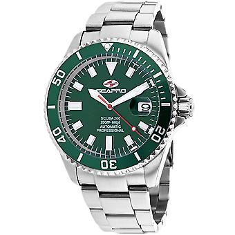 Seapro Men's Scuba 200 Green Dial Watch - SP4318
