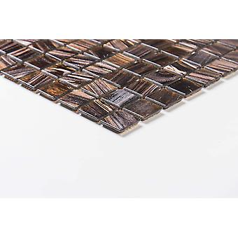 Mosaik D-sign Guldbrun 32,7x32,7