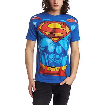 T-Shirt - DC Comics - Superman Muscle Costume Tee Men Small