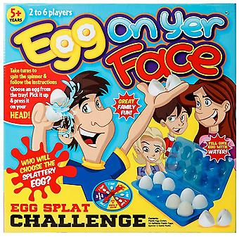 Christmas Shop Crazy Egg On Yer Face Board Game