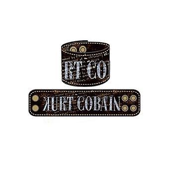 Nirvana Kurt Cobain design armbånd