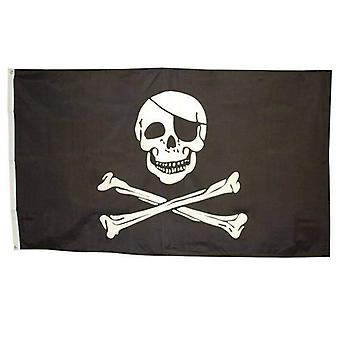 Bristol Novelty Pirate Skull Flag