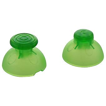 Analog thumbstick & c-stick for nintendo gamecube controller replacement sticks | zedlabz - clear / green