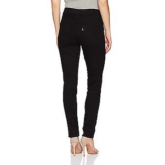 Levi's Donne's Pull-On Jeans, Nero scuro, 27 (US 4), Nero scuro, Taglia 4.0