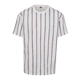 Urban Classics Men's T-Shirt Heavy Oversized AOP Stripe