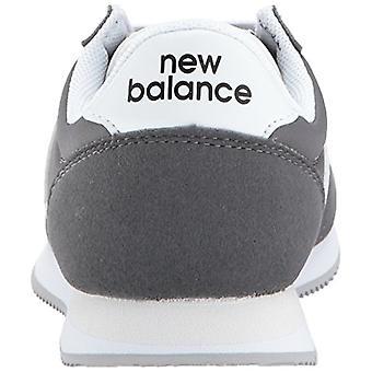 New Balance Kids' Kl220 Sneaker,Grey/White,5 Medium US Little Kid
