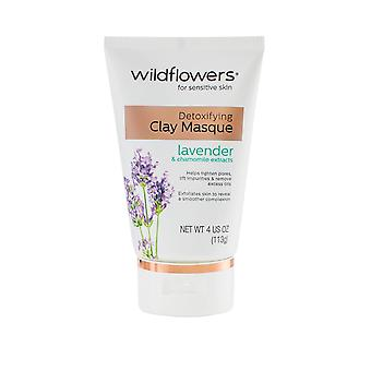 Wildflowers Skincare Clay Masque Detoxifying 113g Lavender and Chamomile