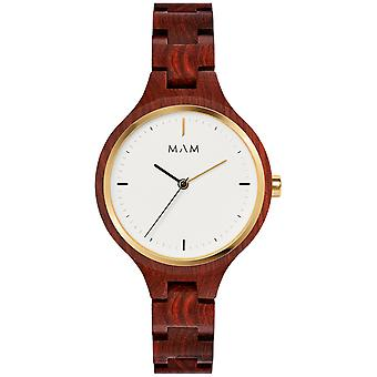 Mam Original Japanese Quartz Analog Woman Watch with Bracelet from Other SILT 608