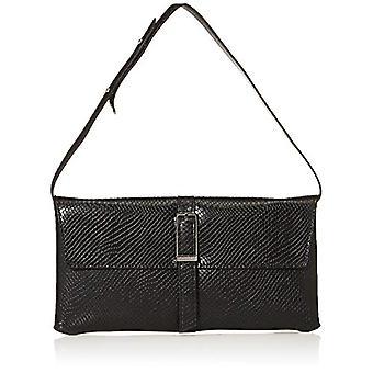 Calvin Klein Winged Shoulder Bag - Black Women's Shoulder Bags (Black) 2.5x16.5x31 cm (W x H L)