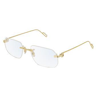 Cartier premiere DE CARTIER CT0113O 001 Gold Glasses
