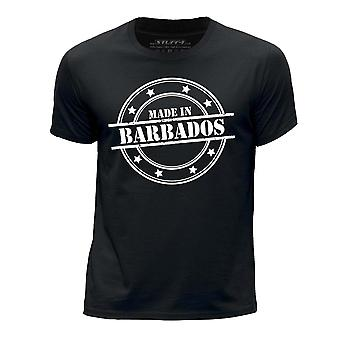 STUFF4 Boy's Round Neck T-Shirt/Made In Barbados/Black