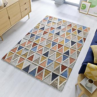 Moretz Wool Rugs In Multicolour From The Moda Collection