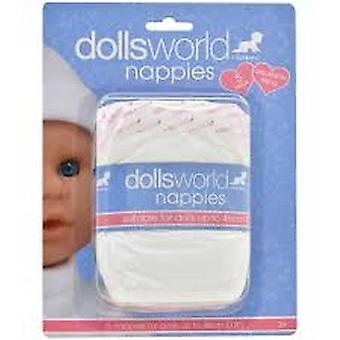 Dolls World Nappies