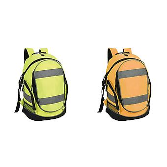 Shugon Hi-Vis Rucksack / Backpack - 23 Litres (Pack of 2)