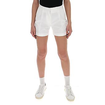 Off-white Owcb027r20h360680100 Women's White Cotton Shorts