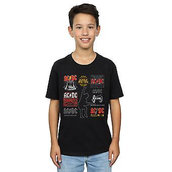 AC/DC Boys Art Collection T-paita