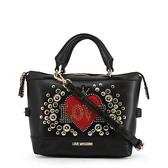 Love Moschino Original Women Fall/Winter Handbag - Black Color 40534