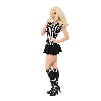 Women Playboy Referee Costume