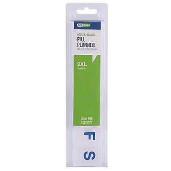 Ezy dose weekly / classic pill planner, 2xl, 1 ea