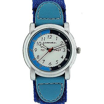 Cannibal Active Analogue Time Teacher Boys Easy Fasten Strap Watch CT203-05
