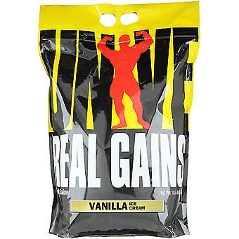 Universal Nutrition Real Gains - About 31 Servings - Vanilla Ice Cream
