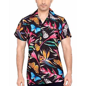 Club cubana miesten & #039; s säännöllinen sovi klassinen lyhythihainen rento paita ccd17